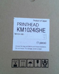 Genuine New KONICA MINOLTA KM1024I PRINTHEAD 12PL